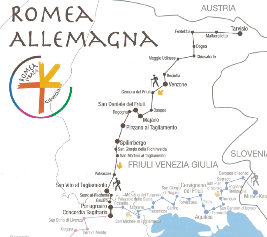 """Lungo l'antica """"Romea Strata"""""""
